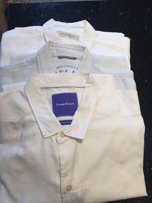Men's Job Lot Of Tommy Bahama Shirts