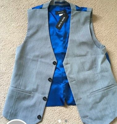 boys river island Waist Coat 11 BNWT