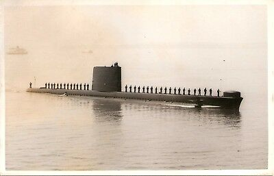 WRIGHT & LOGAN PHOTO,   HMS ODIN,  S10,   1989,  Oberon class Submarine