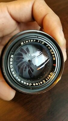Biotar carl zeiss 58mm f/2.0 **please read**