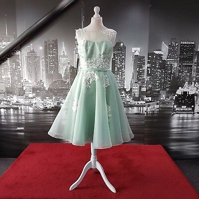 Sample Dress (Seamist-Ivory-Size 14) Party, Prom, Ball, Bridesmaid, RRP £200+