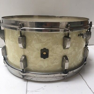 Leedy 14 x 7 Single Ply Broadway Snare Drum - Feb 1939 WMP w/Elkhart Badge