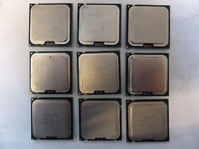 Vendo Stock 9x CPU Intel Core2Duo E8500