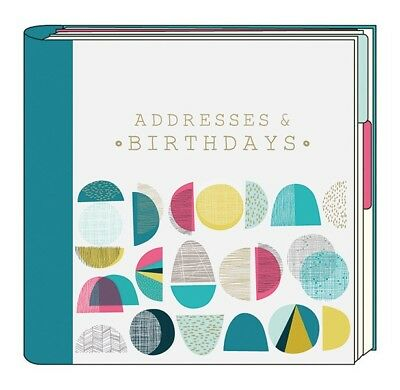 Artfile Tropic Address & Birthday Book - Ringbound Notebook - Great Womens Gift