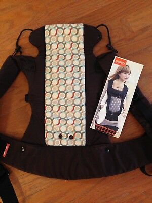 Pre Owned Beco Gemini Baby Carrier Brown With Instructions