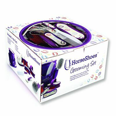 Equestria Sport Horseshoes Deluxe Grooming Set