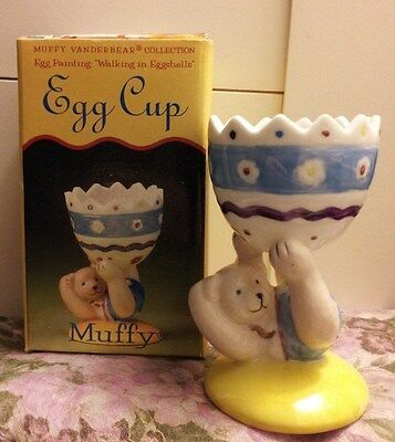 Brand New Muffy Vanderbear Egg Cup (Nib)!!!