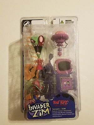 Invader Zim.. Zim...Hot Topic exclusive rare Palisades figure mint condition