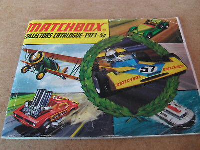 Matchbox Toy Catalogue 1973/74 Uk Edition Near Excellent Condition For Age