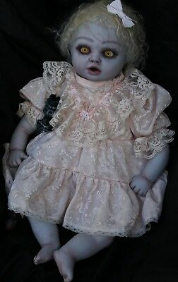 Horror Baby Doll / Unique Halloween Prop.  Ooak Collectable  Doll