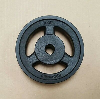 Browning AK51 V-Belt Pulley 16mm Bore Web Type