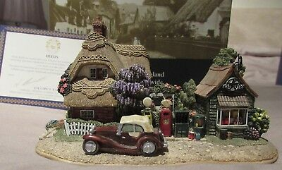 Burley Street Garage ( Lilliput Lane )  with box and deeds