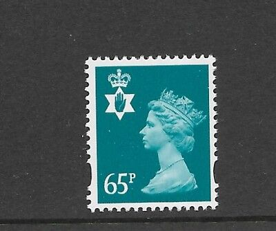 N. IRELAND 65p GREENISH BLUE (2 BANDS) NI87 SUPERB UNMOUNTED MINT ++POST FREE++
