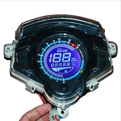 Neu Motorrad modifizierte Instrument LCD Dashboard colorful Screen