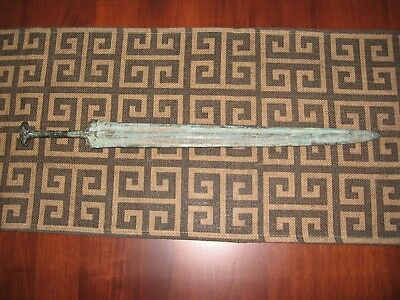 Reproduction Cast Bronze Chinese Sword BC