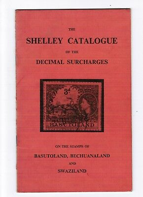 Shelley catalogue of Decimal Surcharges of Basutoland,Bechuanaland,Swaziland