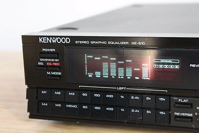 Kenwood GE-810 Stereo Graphic Equalizer