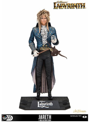 """MCFARLANE TOYS Labyrinth Jareth The Goblin King 7"""" Figure (DAVID BOWIE) IN STOCK"""