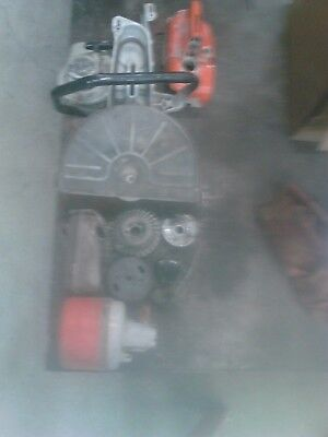 Stihl TS350 Concrete Cut-off Saw lot of used parts
