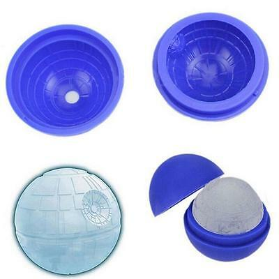 Ice Cube Star Wars Death Star Silicone 3D Food Mould Tray Round Ball Sphere