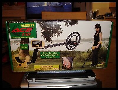 Garrett Ace 150 Metal Detector All Boxed And Never Used Comes With Bill Of Sale