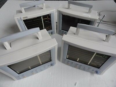 4 Datascope Mindray Passport 2 C02 Vital Signs Patient Monitors Surgical No Res