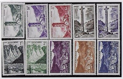 Andorra (French) Small MNH Group III From 1955 Set