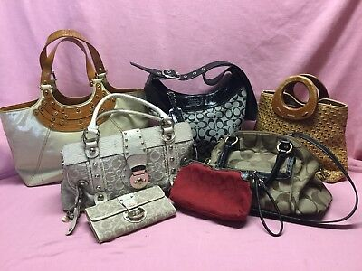 Rehab Purse Lot . Coach -Tory Birch.fossil.guess