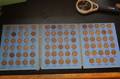 73 Lincoln Head Pennies,  Collection, 1909-1940. C002
