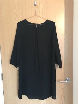 H&M Shift Dress Size 10 12 Work Maternity