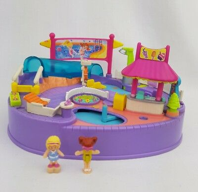 Vintage Polly Pocket Magical Swimabout 100% Complete 1997  excellent cond.