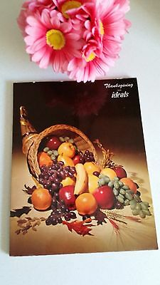 Vintage Thanksgiving Ideals Book Magazine Issue 1963 Poems Art Pictures