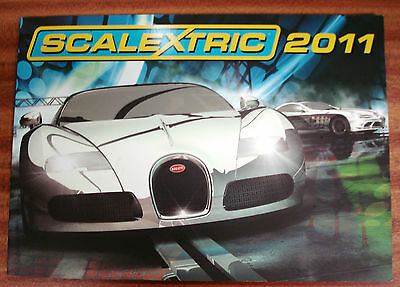 Scalextric 2011 catalogue , hornby hobbies