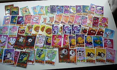 Topps moshi monters mash ups  job lot over 200 , contains foils cards ect