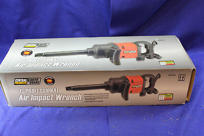 """Central Pneumatic Earthquake 61901 Professional 1"""" Air Impact Wrench"""