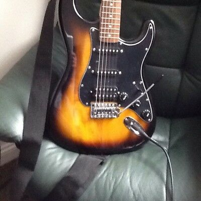 Squier Strat By Fender Electric Guitar