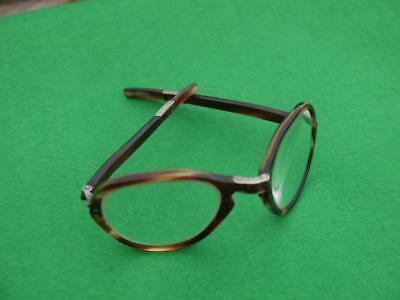 SUPERB UNUSUAL VINTAGE FOLDING FAUX TORTOISESHELL Spectacles GLASSES