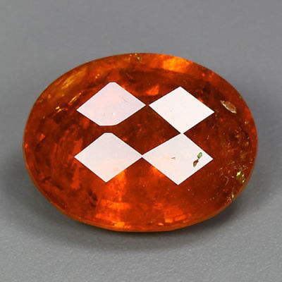 12.67 Cts-Top Class Rarest Color - 100 % Natural Spessartite Garnet - Sri Lanka