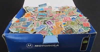Old  Phone Box Full Of Stamps - All Periods - Est 12,000+ Worldwide