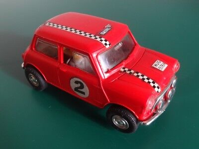 SCALEXTRIC  C7 MINI Cooper Red No2