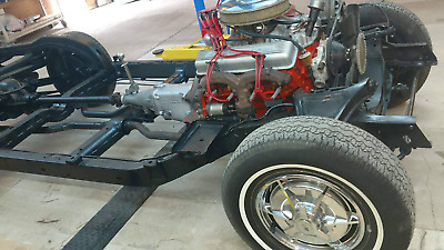 1963 Chevrolet Corvette  1963 CORVETTE CHASSIS WITH MOTOR AND TRANY
