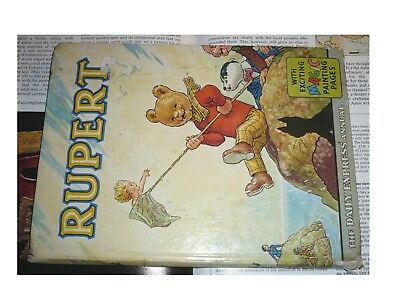 RUPERT Annual 1963, Daily Express Publication - Rupert the Bear - Uncut