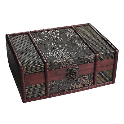 Treasure Box 9.0inch Grape Small Trunk Box for Jewelry Storage,Treasure Car Q7N9