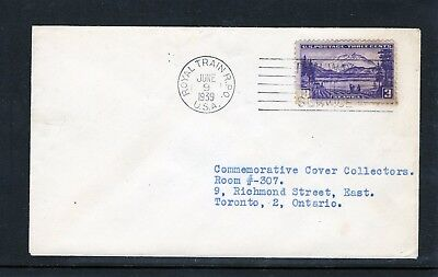 USA 1939 Royal Visit Cover with Royal Train Postmark
