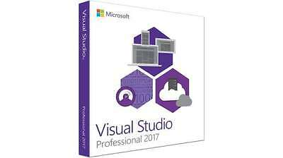 Official Visual Studio 2017 Professional Product Key & Download link for WIndows