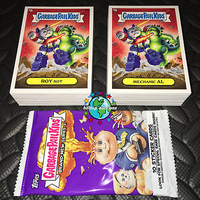 Garbage Pail Kids Ans1 Complete 80-Card Set 2003 All-New Series 1 +Free Wrapper