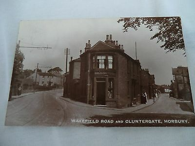 Real Photographic Postcard Of Horbury