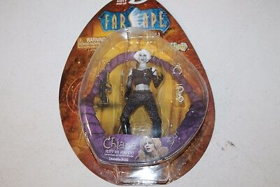 """2000 Farscape 7"""" Chiana Series one action figure Limited to 30,000 by Toy Vault"""
