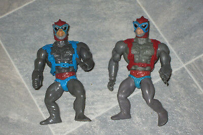 2 x Stratos (rot und blau) von He-Man and the Masters of the Universe