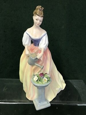 "Royal doulton Figurine With Dog ""Alexandra  "" HN3286"